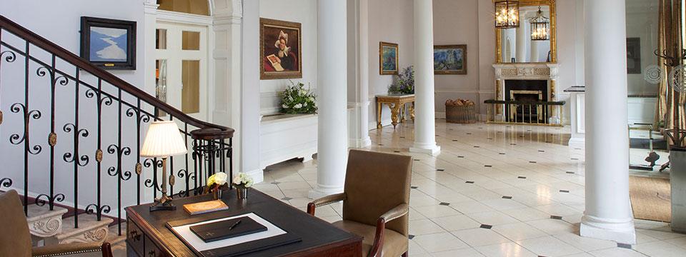 Merrion Hotel Hall